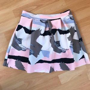 """Cotton On """"Paint Strokes"""" Skirt"""